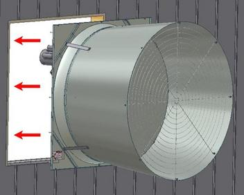 Galvanized Tunnel Fans | Fans and Shutters | Climate Control