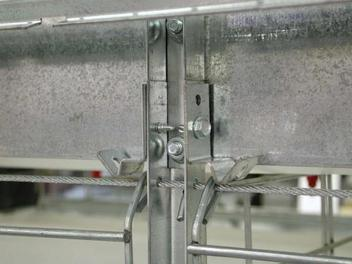 Innovative Cage Door Latch