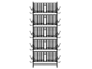 Sample 5-High Modular Manure Belt Cage with Air Drying