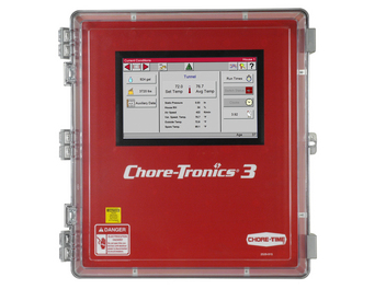 Chore-Time's CHORE-TRONICS® Controls are one of three winch control options.