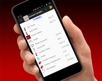 CHORE‑TRONICS® Mobile App and BROADCASTER™ Alert System