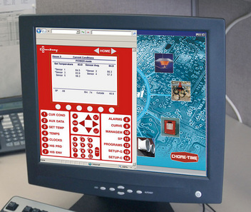 Chore-Time's CHORE-TRONICS® Ethernet Local Talk (ELT) Interface converts information from CHORE-TRONICS® 2 Controls into a web-friendly format.