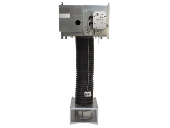 CUBO® Model SE/G - Provides destratification with indirect combustion. Includes a separate burner unit and ducting.