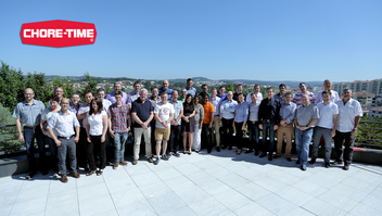 Chore-Time Europe B.V., part of CTB's Chore-Time Group, hosted a regional sales meeting in Viseu, Portugal in May, 2015 for European distributors of its poultry and egg production systems.