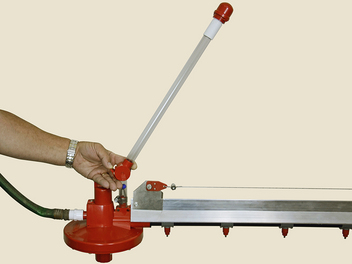 Folding Stand Tube Latch offers one-handed operation