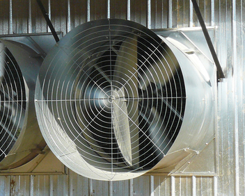 48 inch fan shop choretimes hyflo shutter improves fan performance by minimizing obstructions during operation galvanized tunnel fans and shutters climate control