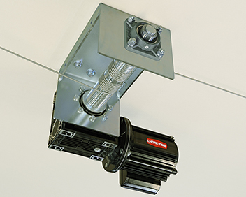 Chore-Time's GRIFCO® Direct-Drive Cable Winch for Poultry Feeder and Drinker Applications.*