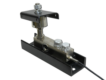 Load Cell handles up to 10,000 pounds (4,500 kg) per feed bin leg