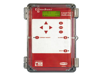 Load Cell Indicator Control is simple to operate for monitoring feed bin weights