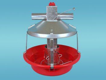 Chore-Time's MODEL ATF™ PLUS Feeder with Red Pan