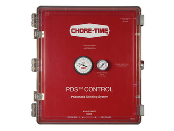 Chore-Time's PDS 12- to 40-Station Control for 24 to 80 Regulators