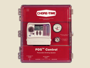 Chore-Time's PDS 4- and 8-Station Control for 8 to 16 Regulators