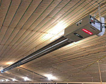 Chore-Time's Heatstar AG JET25™ Heaters feature a unique dual-diameter tube system for more consistent heat.