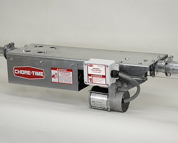 ACCUTROL™ Automatic Actuator System for programmed feeder adjustment using a CHORE-TRONICS® Control