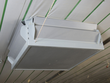 Gravity-Operated TopJet Attic Inlet