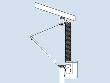 System can be installed over Chore-Time's tunnel door to eliminate need for doghouse construction and curtain.