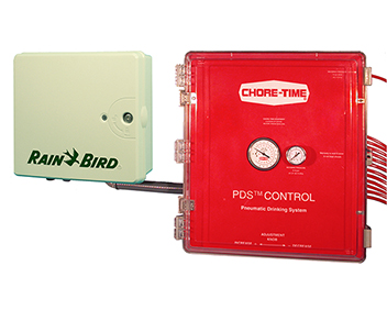 PDS Controllers are available in models that can adjust and automatically flush up to 64 regulators with a single control unit.