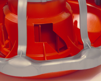 Patented Rotary Gate, outside cone stays fixed, inside cone rotates to adjust flood level