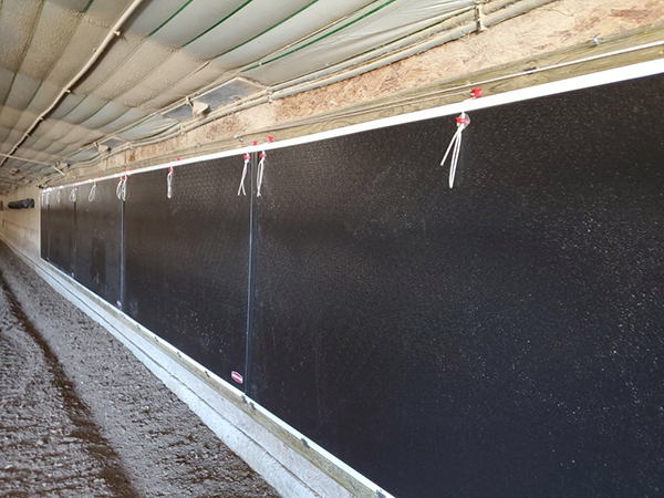 Tunnel Doors Climate Control Turkeys Chore Time
